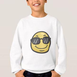 Emoji: Le ansikte med solglasögon T-shirt