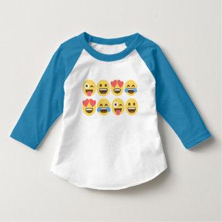 Emoji skjorta - Emoji ansikten Tee