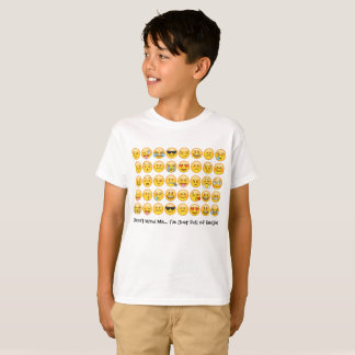 Emoji skjortaför barn t-shirt