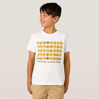 Emoji skjortaför barn tee shirts