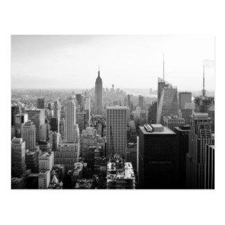 Empire state som bygger Manhattan Vykort
