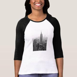 Empire statedamer 3/4 sleeveRaglanskjorta Tee Shirt