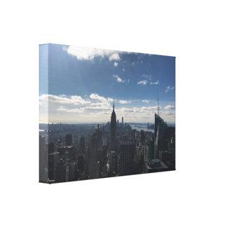Empire stateNew York kanfas Manhattan Canvastryck