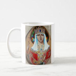 empress Elena från Konstantinopolis Kaffemugg