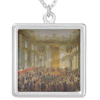 Empress Maria Theresa Silverpläterat Halsband