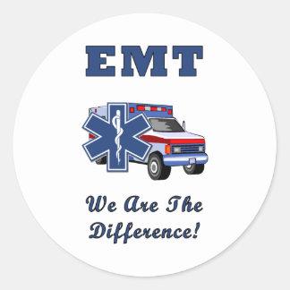 EMT är vi skillnaden Runt Klistermärke