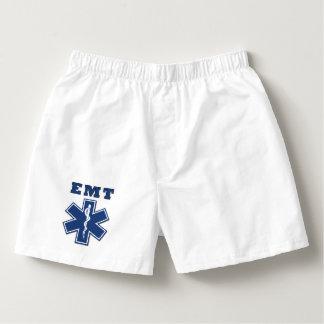 EMT-blått Boxers