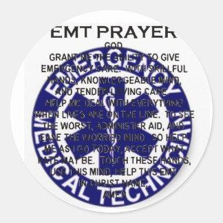 EMT-bön Runt Klistermärke