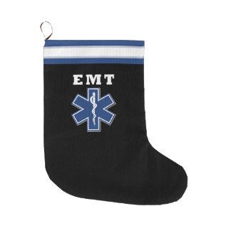 EMT-stjärna av liv Stor Julstrumpa