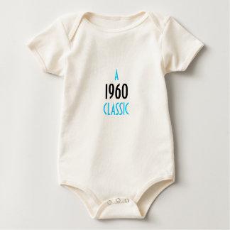 """""""EN 1960"""" KLASSIKER BODIES FÖR BEBISAR"""
