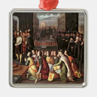 En allegori av tyrannyen av hertigen av Alba Julgransprydnad Metall
