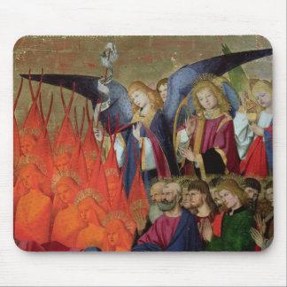 En ängel, från 'coronationen av Virgin'en Musmatta