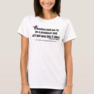 En apa berättade mig ATT TANKA T-shirts