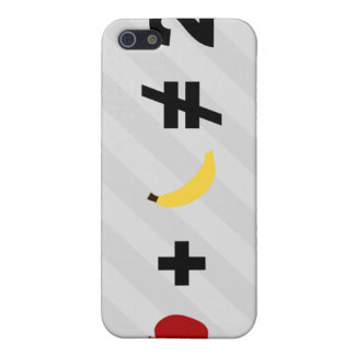 En Apple plus en banan iPhone 5 Hud