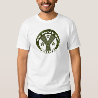 En armé av inga tee shirts