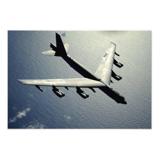En B-52 Stratofortress i flyg 2 Fotontryck
