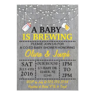 EN BABY BRYGGAR baby showerinbjudan 12,7 X 17,8 Cm Inbjudningskort