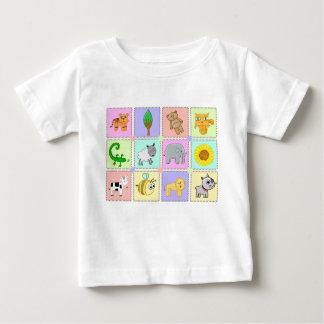 En bebist-skjorta med en gullig tecknad på t-shirts
