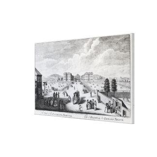 En beskåda av Foundlingsjukhuset Canvastryck