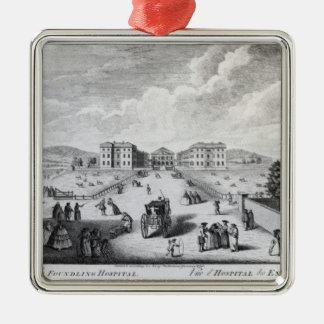 En beskåda av Foundlingsjukhuset Julgransprydnad Metall