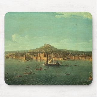 En beskåda av Naples, 17th århundrade Musmatta
