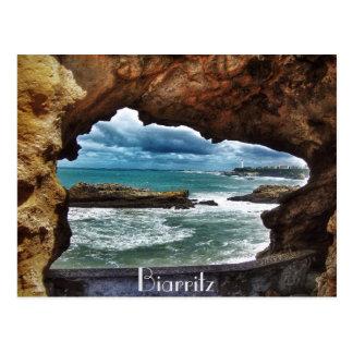 """""""En beskåda som minns"""" - Biarritz Vykort"""