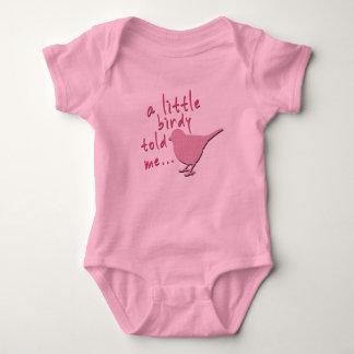 En Birdy berättade lite mig den babyJersey T Shirt