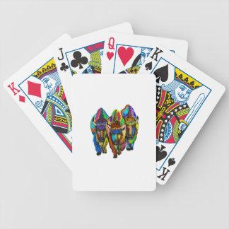 En BisonTrio Spelkort