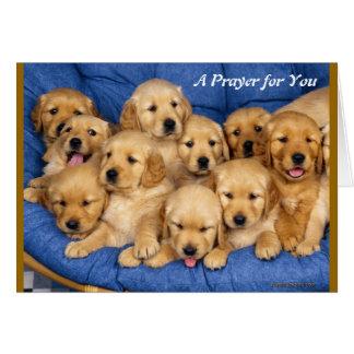 En bön för dig hälsningskort