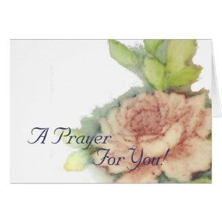 En bön för dig! - Skräddarsy Hälsningskort