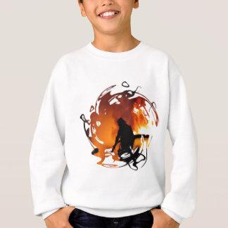 En cirkla av flammar tee shirt