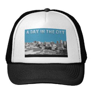 En dag i staden keps