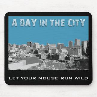En dag i staden mus matta