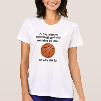 En dag utan basket tshirts