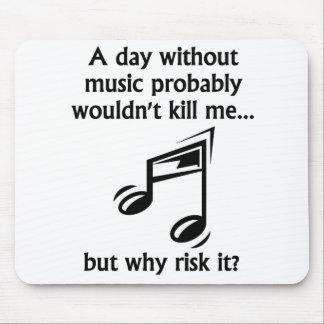 En dag utan musik musmatta