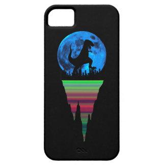 En Dinosaur i staden iPhone 5 Case-Mate Skal