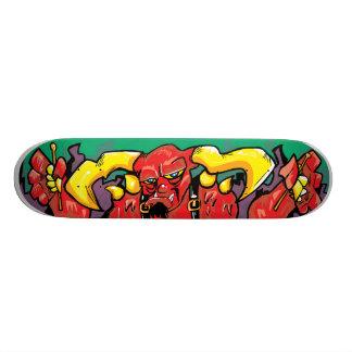 En djävulen av en handelsresande! skateboard bräda 19,5 cm