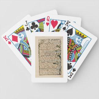 En dröm, illustration från 'sånger av oskuld och spelkort