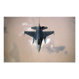 En Emirati F-16 Fototryck