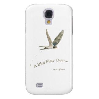 En-Fågel-Flyga-Över Galaxy S4 Fodral