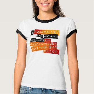 En feminist är… t shirt