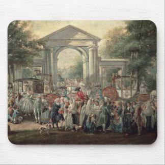 En Fiesta i en botanisk trädgård, 1775 Musmatta