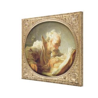 En filosof, c.1764 canvastryck