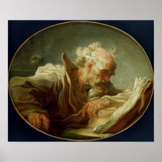 En filosof, c.1764 poster