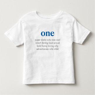 en födelsedagskjorta t-shirts