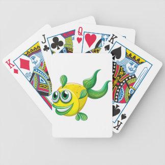 En ful fisk spelkort