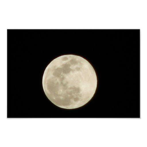 En fullmåne i Februari Affischer