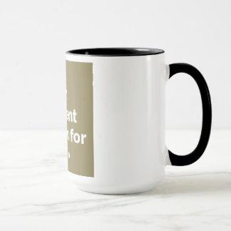 En gäspning är ett tyst skri för kaffe mugg