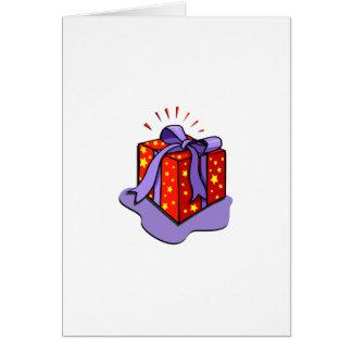 En gåva till Gve någon Hälsningskort