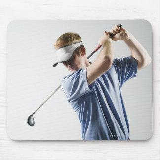 En golfare musmatta